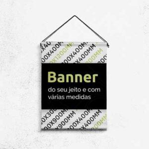 Banner impresso para dominação digital